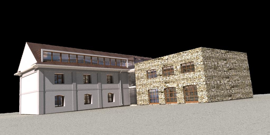 školící centrum - rekonstrukce památkového objektu